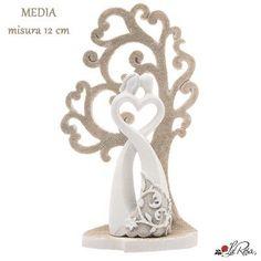 bomboniera matrimonio coppia sposi con albero della vita