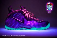 Nike+Galaxy | besides the nike air yeezy 2 the nike air foamposite one galaxy all ...