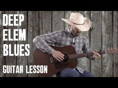 Deep Elem Blues Guitar Lesson with Tablature, chords and lyrics. Here's a link to the guitar lesson https://countryguitaronline.com/deep-elem-blues-guitar-lesson