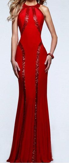 Women A line mermaid sequin dress prom party dance evening gown homecoming chic