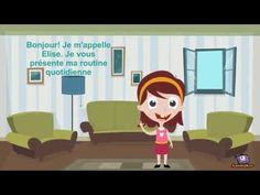 Élise et sa routine quotidienne - YouTube Ab Initio, French Language Lessons, Youtube Comments, French Classroom, French Resources, Story Video, Free Time, Family Guy, Activities