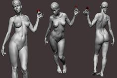 3D Sculpting, 3D Modeling, Human Anatomy: