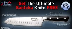 Santuko High Performance Cooking Knife  | The Santoku knife is light and hence it causes less strain to your hands. Moreover, it helps you to cut faster. You can also use the knife to cut very thin slices of vegetables. One side of the knife is flat and the other side is beveled like a chisel. Therefore, you need only sharpen one side of the knife.