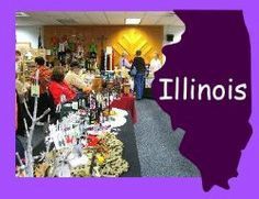 Illinois craft shows - Find craft shows in Illinois for 2013 right here!  Sign up to receive a list of Illinois craft shows and fairs in your inbox too.