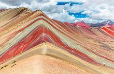 Montaña de los siete colores, Ausangate es la quinta montaña más alta del Perú