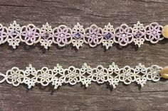 This listing is for a digital PDF pattern, NOT the finished item. The 5 page file includes the pattern of the tatting lace bracelet (Victorian Romance). It doesnt include basic tatting techniques. All of my patterns are optimised for shuttle tatting.  If you have any question about the pattern, please convo me on Etsy.  This is an instant downloadable digital file. No refunds will be given due to the nature of the item.  You can sell or give away items made from the pattern, but please do…