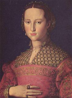 Angelo Bronzino - Ritratto di Eleonora di Toledo