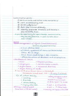 nursing notes | Bipolar 5 Cna Nurse, Student Nurse, Nursing Students, Study Help, Study Tips, Nursing Cheat Sheet, Psychiatric Mental Health Nursing, School Survival Kits, Bi Polar
