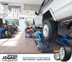 En Neumáticos Jogase te encontrarás con grandes profesionales.   http://www.neumaticosjogase.com/