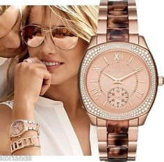 72636 jewelry NEW MICHAEL KORS BRYN ROSE GOLD CRYSTAL WATCH MK6276  BUY IT NOW ONLY  $159.0 NEW MICHAEL KORS BRYN ROSE GOLD CRYSTAL WATCH MK6276...