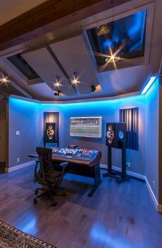Custom Recording Studio Furniture - SCS | White rooms, Studio and ...