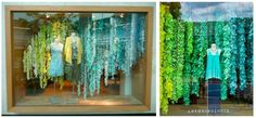 Decor ideas from Anthro window displays