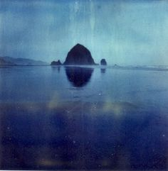 Untitled by Rachel Carrier, polaroid on expired Time Zero film