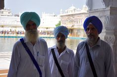 The Golden Temple in Amritsar, India, August 2016.