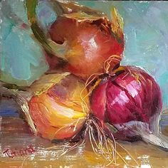 "Tatiana Yanovskaya-Sink on Instagram: ""Into the tears... 6x6 oil Daily painting  #stilllife  #stillveggies  #oinions #instantart  #dailypaintings  #funpaintings #loveonions"" Still Life, Sink, Painting, Instagram, Sink Tops, Painting Art, Sinks, Paintings, Countertop"