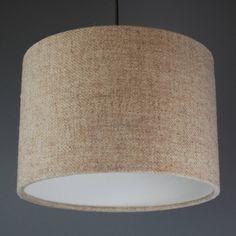 Oatmeal Harris Tweed Lampshade