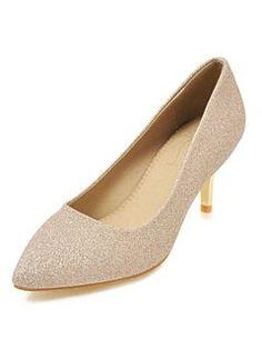 bbbf281d8f7d8 Kitten Heel Pumps Gold Pointed Toe Slip On Pumps Women Dress Shoes   womensdresspumpslowheel Gold Pumps