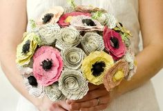 Literature flower bouquet - CosmopolitanUK