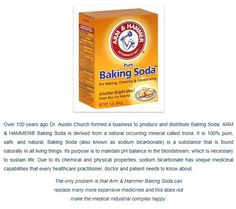 Get the toxins out of your life and drink baking soda, your body makes it the stomach makes it the pancreas makes it the gall bladder makes it, bile is alkaline.. if your disease is killing you its because your bicarb is low and your not digesting food  or absorbing minerals