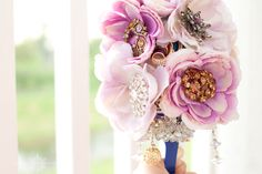My brooch bouquet!! :D  Love how it turned out!
