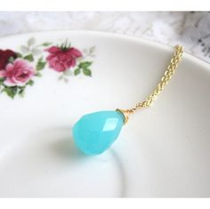 Summer Glass Necklace by Jewelsalem, $18.00