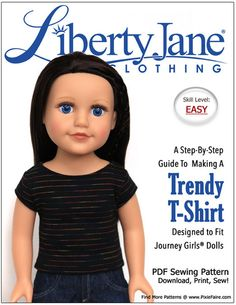 Liberty Jane trendy t-shirt for Journey girls FREE Freebie Friday 1-23-15