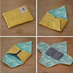 fabric envelope needle case!