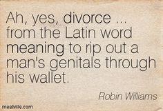 #divorce #robinwilliams