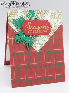 Tarjetas Stampin Up, Stampin Up Cards, Christmas Balls, Christmas Holidays, Christmas 2019, Black Christmas, Christmas Crafts, Winter Cards, Holiday Cards