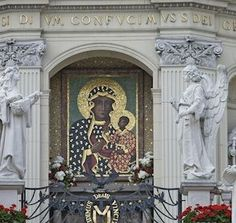 The road to Krakow, Poland leads past Czestochowa, site of Jasna Gora and the Black Madonna, venerated as Poland's holiest icon.