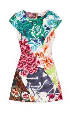 shakuhachi flower bomb dress
