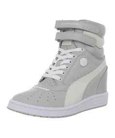 16efd0a73051 Love this Gray  amp  Violet Wedge Sneaker by PUMA on  zulily!  zulilyfinds