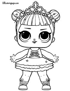 Printable LOL Doll Coloring Pages. Find out our collection of LOL Doll coloring pages below. Your children surely will love these images. Baby Coloring Pages, Valentine Coloring Pages, Unicorn Coloring Pages, Free Coloring Sheets, Coloring Pages To Print, Free Printable Coloring Pages, Coloring Pages For Kids, Coloring Books, Kids Coloring