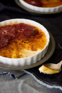 creme brulee, sweet, and dessert image