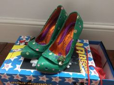 Irregular Choice Green Magic Mushroom Heels