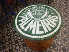 Simbolo do Palmeiras em mosaico