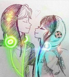 Adrien y Marinette Anime Miraculous Ladybug, Miraculous Ladybug Wallpaper, Meraculous Ladybug, Ladybug Comics, Cn Fanart, Light Images, Cat Noir, Wow Art, Cute Anime Couples