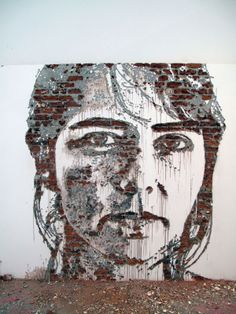 Artist Alexandre Farto Carves Giant Portraits Into Old Building Walls Around the World