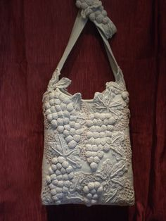 Vintage Tuscan Vineyard Handbag  Purse by touchograce on Etsy, $85.00