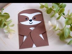 Making a Sloth with Lawn Fawn Woodland Critter Huggers - YouTube