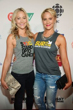 Cynthia Daniel and Brittany Daniel attend the 4th Biennial Stand Up To Cancer (SU2C), A Program of The Entertainment Industry Foundation (EIF), at Dolby Theatre on September 5, 2014 in Hollywood, California.
