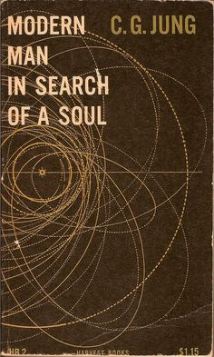 Vintage Book Cover - Modern Man in Search of a Soul