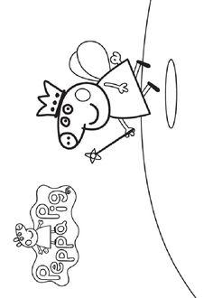 Dibujos para imprimir Peppa pig 21 Cumple Peppa Pig, Quote Coloring Pages, Felt Quiet Books, Pig Party, Pre School, Snoopy, Activities, Disney, Vegans