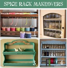 spice rack repurposing