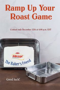 Ramp Up Your Roast Game Contest