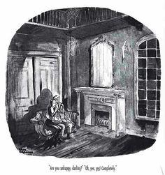Charles Addams : Addams Family Values Original Addams Family, Addams Family Cartoon, Frankenstein, Gomez And Morticia, Morticia Addams, John Kenn, Charles Addams, Arches Watercolor Paper, Adams Family