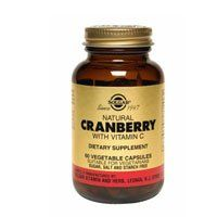 """Natural Cranberry Extract Vegetable Capsules By Solgar - 60 Count by Solgar. Save 16 Off!. $10.91. Solgar's Standardized Full Potency (SFP) Herbs are developed through a unique process that integrates the ideologies of both traditional herbalist and standardized herbal technology. .. Natural Cranberry with Vitamin C Vegetable Capsules is one of Solgar""""s premium-quality herbal formulas."""