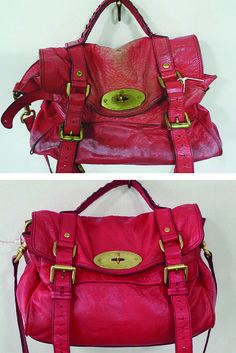 This Mulberry Alexa had seen a lot of wear & needed a major overhaul! After coming into The Handbag Spa its back to looking it's best.  thehandbagspa.com