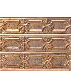 Kitchen Backsplash behind the stove...Decorative Ceiling Tiles, Inc. Store - Peppy Pom Pons - Antique Copper Backsplash Tile -