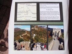 Great Wall of China - 4 - Scrapbook.com